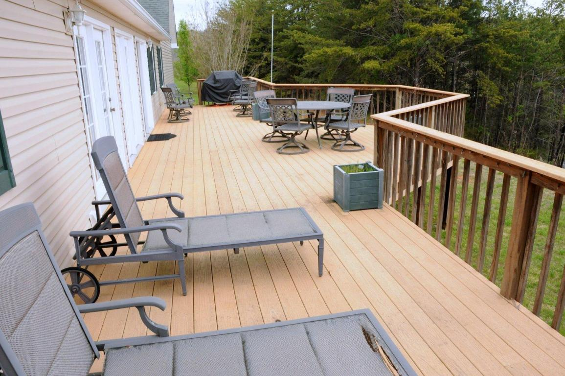 Second view of patio deck with plenty of space to BBQ and entertain family and friends