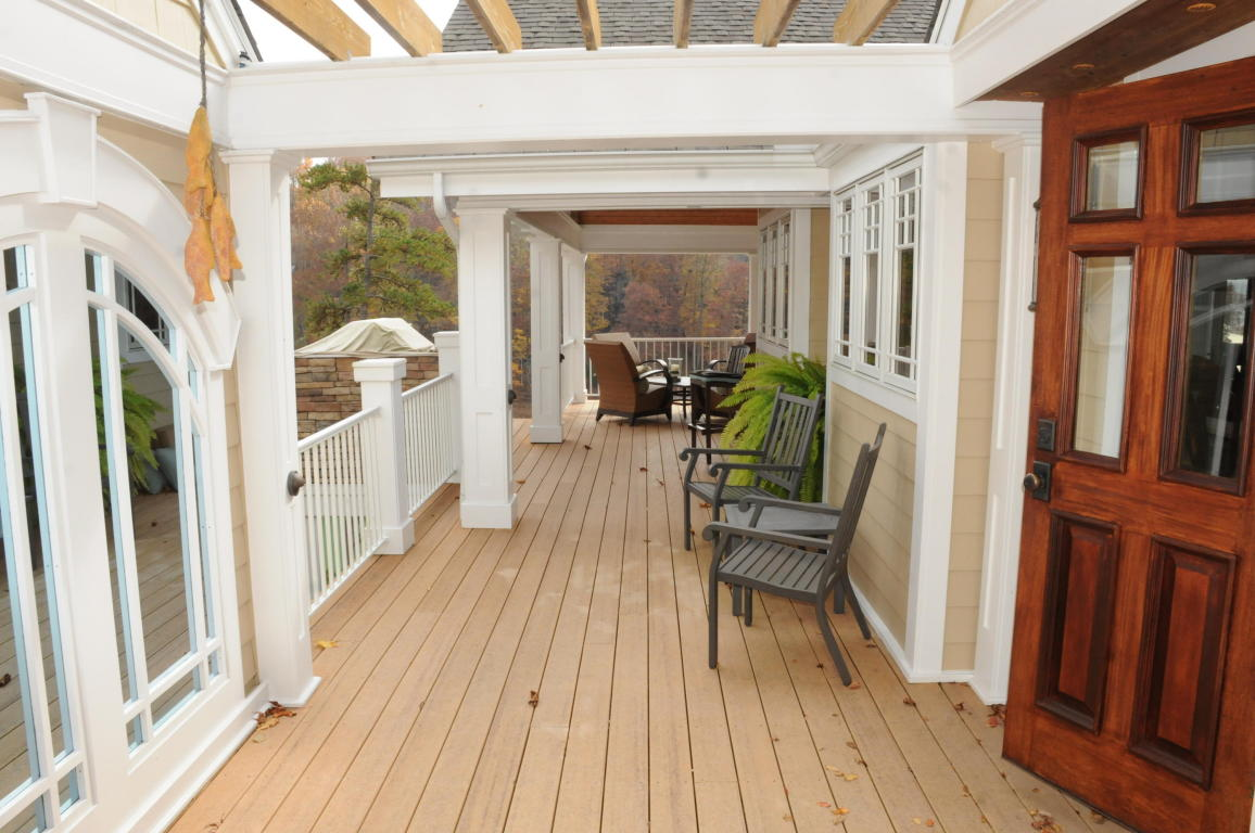 Outdoor patio deck with Terrace on main level