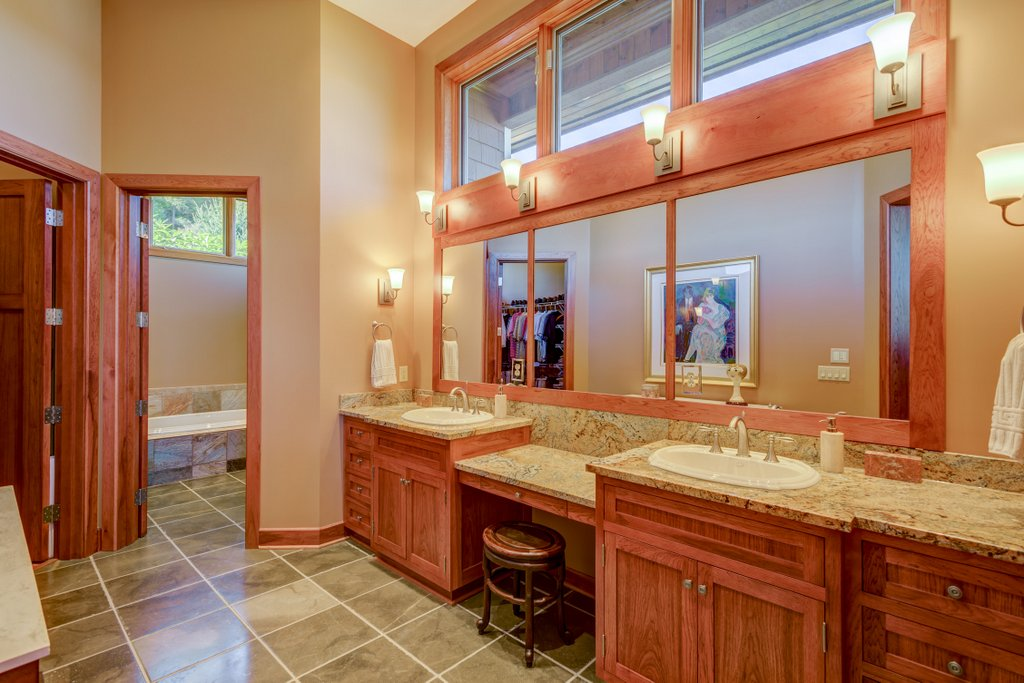 Master Bathroom View