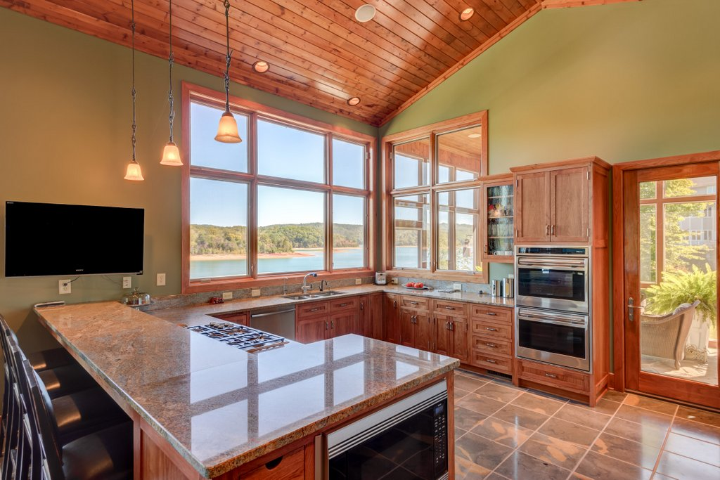 Lakefront Kitchen View