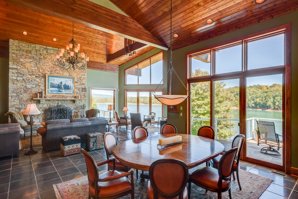 Dining Room View of Norris Lake