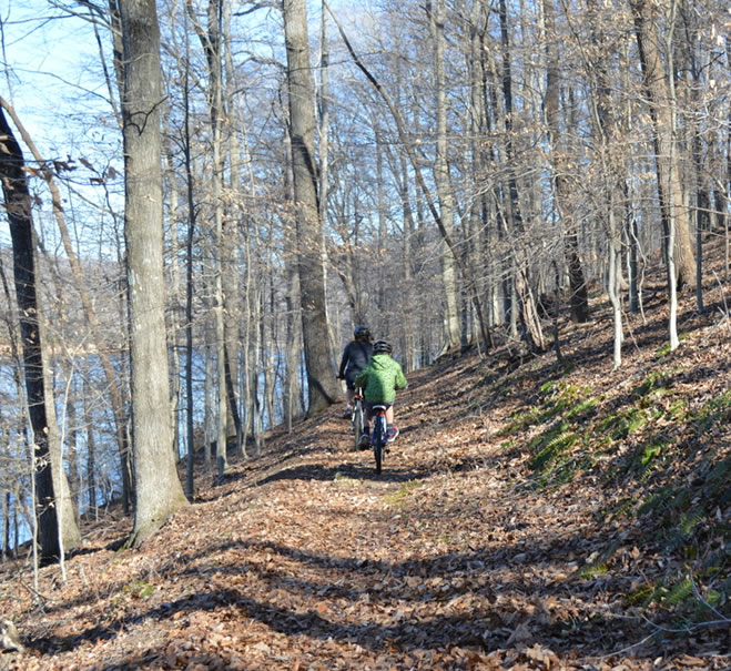 Day Hike Lakeside Trail at Norris Dam Norris Lake TN