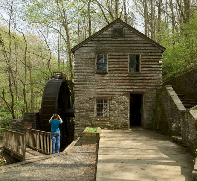 Discover Grist Mill at Norris Dam State Park Norris Lake TN