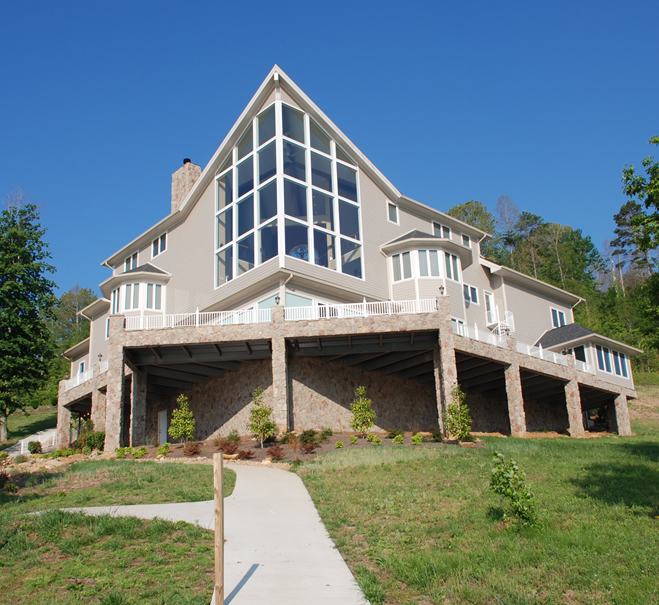 Home builders on norris lake norris lake tn for Luxury home building