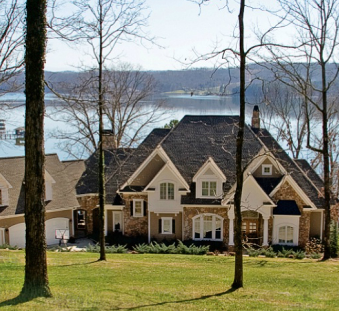 Custom Lake House Plans by Stephen Davis Home Designs Norris Lake TN