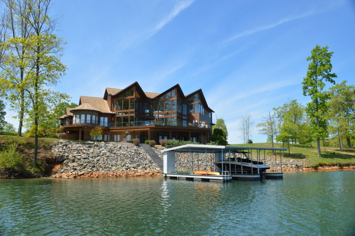 Norris lake house for sale at the peninsula norris lake tn for Lake house property