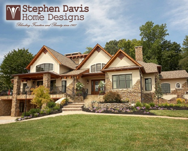 custom lake house plans by stephen davis home designs