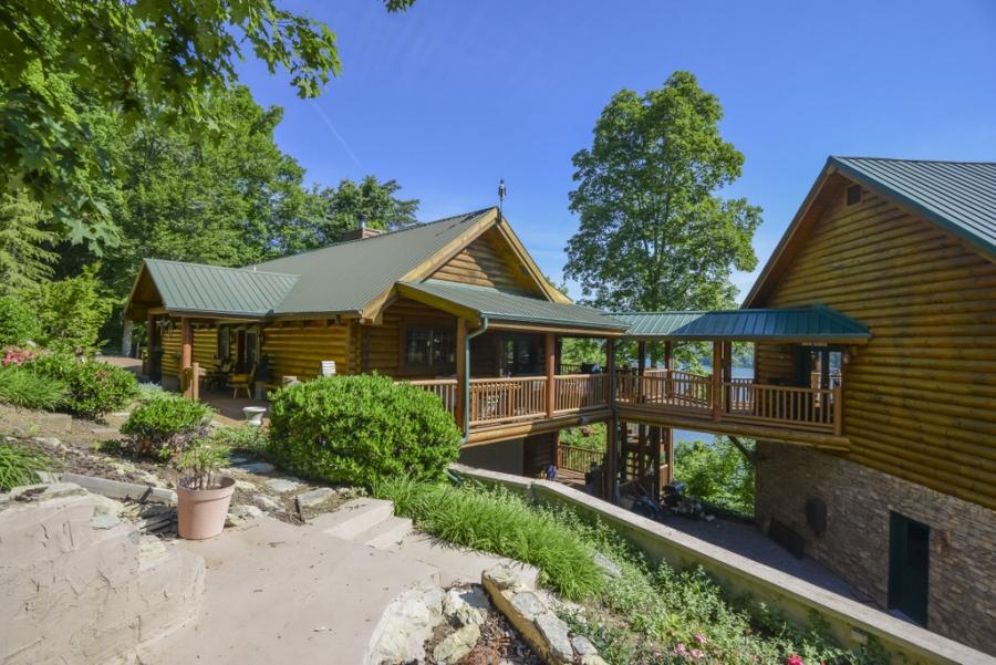Log Cabin Home Retreat At Norris Shores Norris Lake Tn