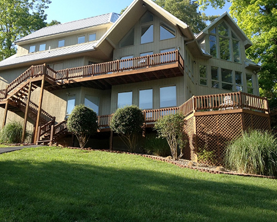 Lakefront Vacation Rental At The Czarnecky Home Norris