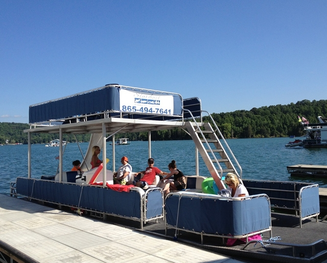 Party Boat Rental on Norris Lake