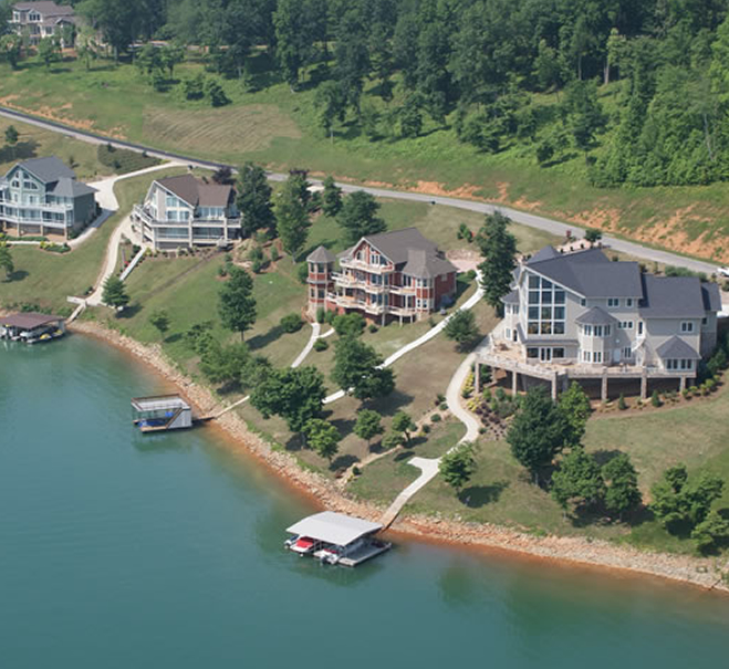 Luxury Lake Homes On Mountain: The Peninsula Homes For Sale