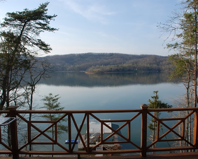 Lakefront View of Norris Lake