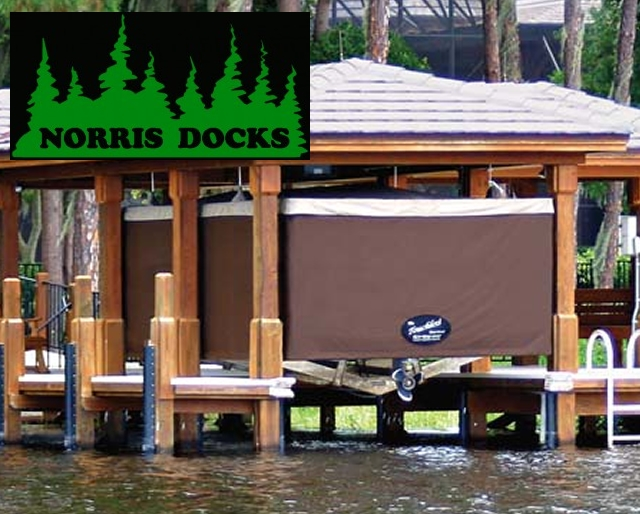 Touchless Boat Covers by Norris Docks
